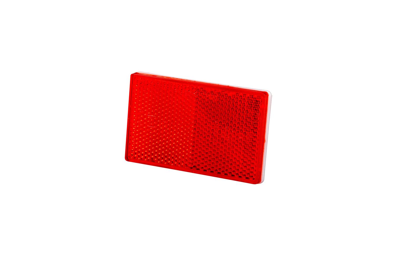 odblask czerwony przyklejany